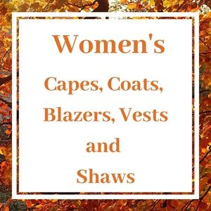 Women's Blazers, Coats, Vest, Capes Section